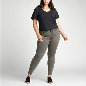 Silver Jeans Most Wanted Skinny Plus Size